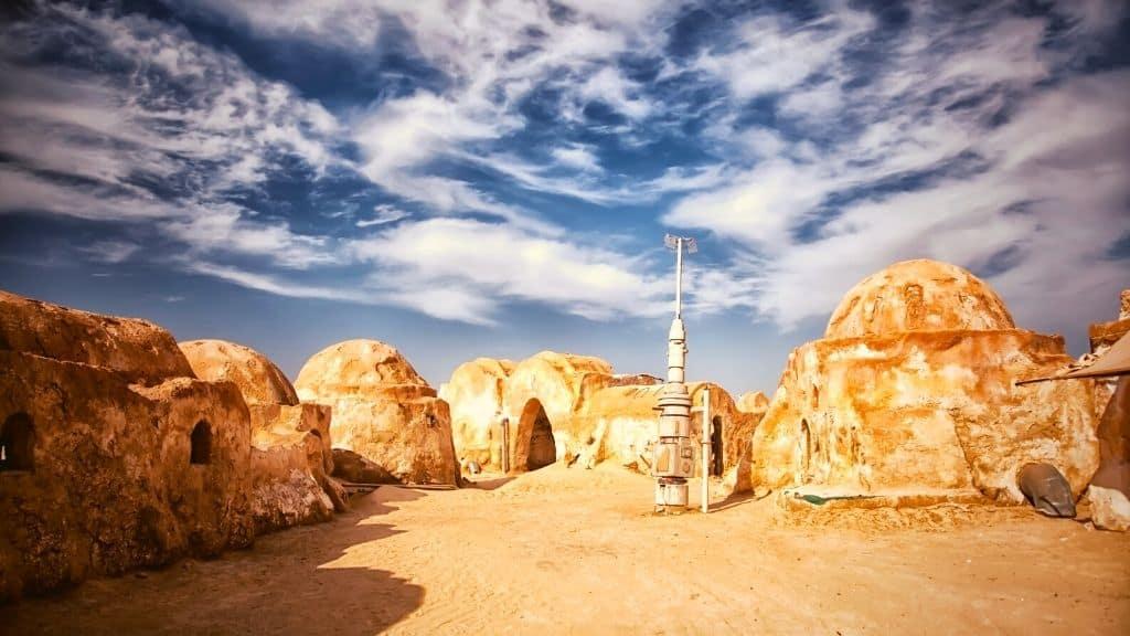 star wars tattooine landscape desert tunisia
